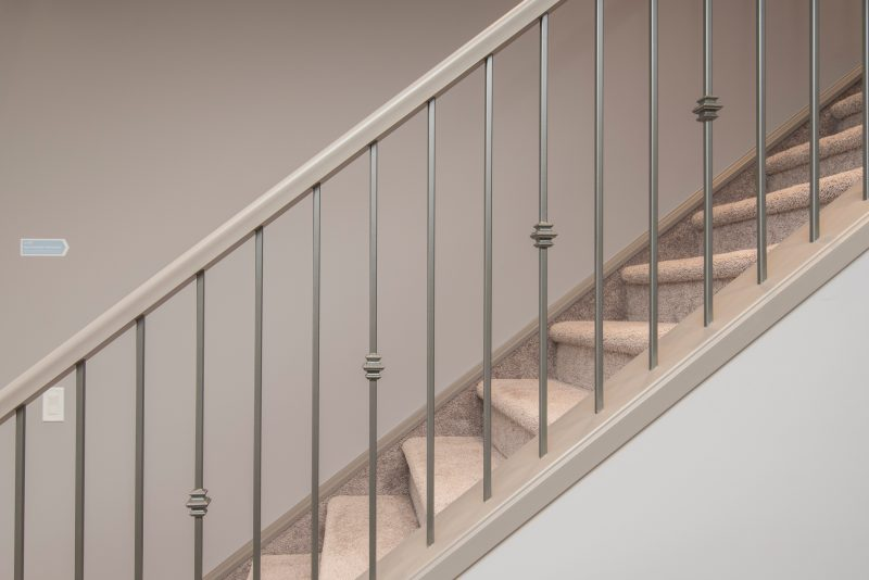 Residential Cleaning Service Stairs Foyer